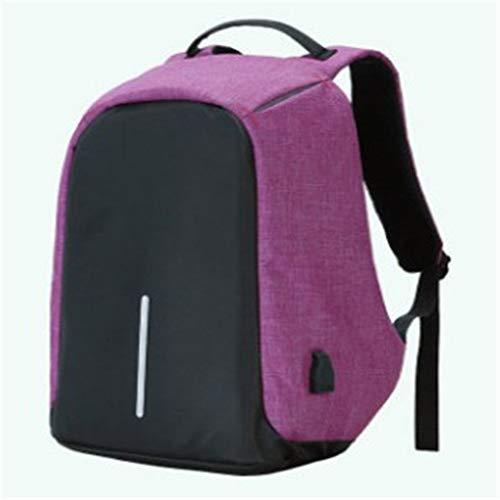 SWX Rucksack, multifunktional, stoßfest, für Reisen, USB-Lade-Rucksack, modisch