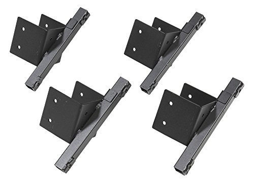 Deer Box Blind - Shadow Hunter Anchor System SHBAS Blind Anchor System to Secure 4x4 Posts, 4 Pack