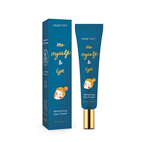 FaceTory Me, Myself & Eye Refreshing Eye Cream | 30ml/1.01oz Moisturizing and Calming Eye Cream with Rice Water and Bifida Lysate Ferment