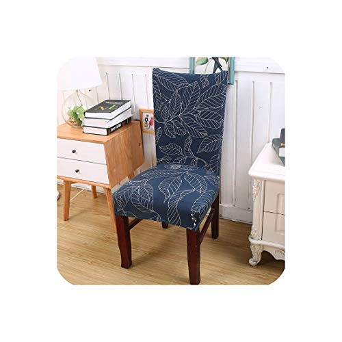 Kitchen Chair Cover Stretch Seat Cover Slipcovers Chair housse de Chaise Furniture Covers Universal Spandex Chair Covers Dining,Color 17,Universal Sizes (Melbourne Outdoor Furniture Buy)