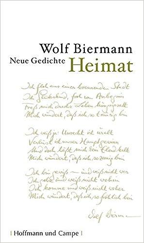 Heimat Neue Gedichte Amazonde Wolf Biermann Bã¼cher