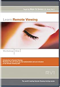 amazoncom learn remote viewing disk 01 major ed dames