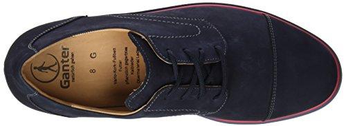Ganter Giacomo, Weite G, Scarpe Stringate Uomo Blu (Bleu (Navy 3100))