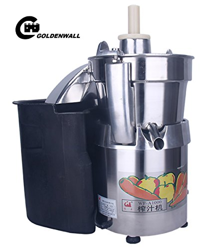 WF-A1000 Commercial large caliber Juice Extractor full stainless steel Juicer Juice machine Juicing machine Centrifugal Juicer Fruit and Vegetable juicer juice squeezer 750W 2800r/min 120-140kg/h by CGOLDENWALL