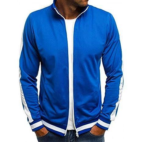 caedd4b994 Amazon.com: FelixStore Jacket Men's Fashion Stretch Jackets Coat Zip ...