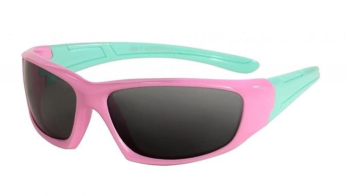 WODISON Gafas de sol infantiles polarizadas para niños Goma flexible de 3 a 10 años (