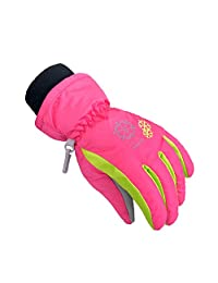 Ski Gloves Waterproof Warm Snowboard Gloves Winter Kid Skiing Gloves