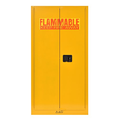 (Sandusky Lee SC600F Flammable Liquid Safety Storage Cabinet 60 gal, 65