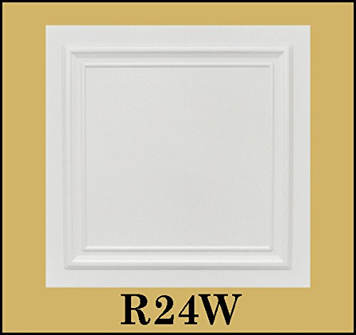 tin-look-glue-up-ceiling-tiles-20x20-styrofoam-extruded-polystyrene-r24w-lot-of-8