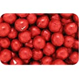 Luxury Solid Milk Chocolate Crimson Red Foiled Balls (500g bag) (pack of 105)