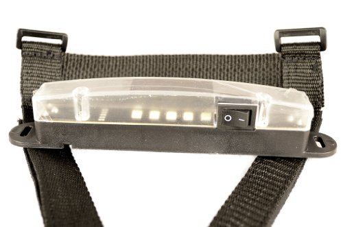 LED Superbright Utility Light Mounts on Roll Bars for All Models of Jeep Wrangler JK 2007-2017 or to Present