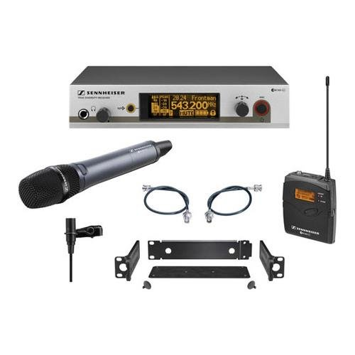 Sennheiser ew312/335 G3 Wireless System with Handheld and Lavalier Microphones, A-516-558MHz by Sennheiser