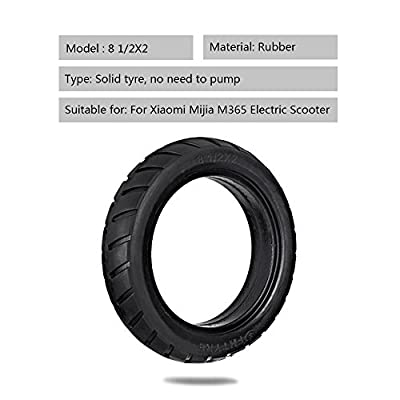 Lixada 8.5 Inch Front/Rear Scooter Tire Wheel Solid Replacement Tyre 8 1/2X2 for Xiaomi Mijia M365 Electric Scooter Skateboard (1 PC): Toys & Games