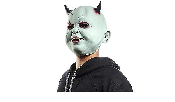 TLTLTL Little Devil Vampire Máscara De Halloween Terrorista ...