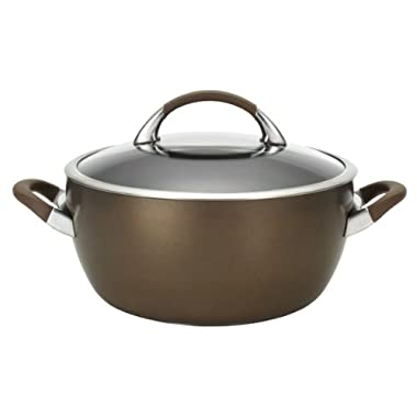 Circulon Symmetry Chocolate Hard Anodized Nonstick 5.5-Qt. Covered Casserole