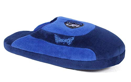 DMA07-3 Dallas Mavericks - Large - Happy Feet Mens and Womens Low Pro Slippers