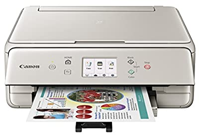 Canon Office Products PIXMA TS6020 BK Wireless Color Photo Printer with Scanner & Copier, Black from Canon USA Inc.