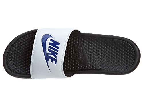 It Just Athletic Blue Men's Deep Royal Black Benassi Do NIKE White Sandal wxqI1gg