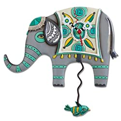 Indie Ellie Elephant Clock Allen Studio Designs