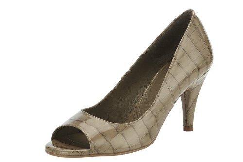 Patrizia Dini Peeptoes - Zapatos de Vestir de material sintético Mujer marrón - Marron - Taupe