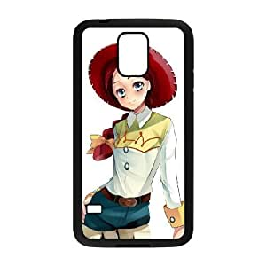 Samsung Galaxy s5 Black Cell Phone Case HUBYLW0292 Disneys Toy Story - Jessie Phone Case Cover For Men