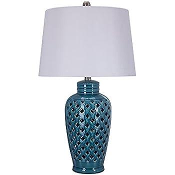 Fangio lighting 8827 fangio lightings 26 inch blue ceramic table fangio lighting 8827 fangio lightings 26 inch blue ceramic table lamp with lattice design aloadofball Choice Image