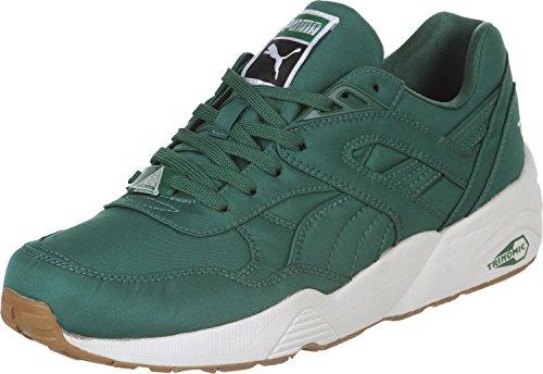 Puma R698 Nylon Schuhe 10,5 Posy Verde / Verde / Branco