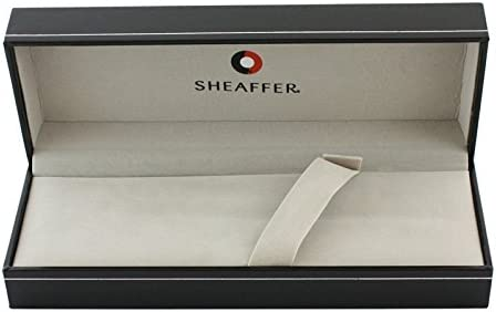gl/änzend schwarz /& chrom Sheaffer 300F/üllfederhalter und Tintenroller Set