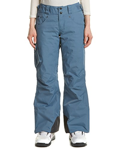 Mountain Hardwear Women's Snowburst Insulated Cargo Pants, Mountain, M Regular - Mountain Hardwear Fleece Pants