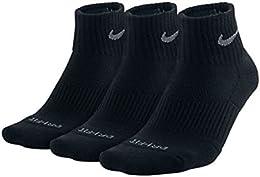 Low Price 3ppk Dri fit Cushion Quarter Socks Sx4835 001