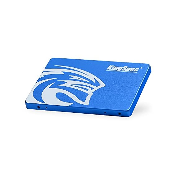 KingSpec 64GB 2.5-Inch SATA III Internal SSD (T-64) 4 High-performance, stable and reliable.Compatible with SATA2. Accelerated by newest 3D NAND technology. Sequential Read/write: 350/178 MB/s (for reference only).