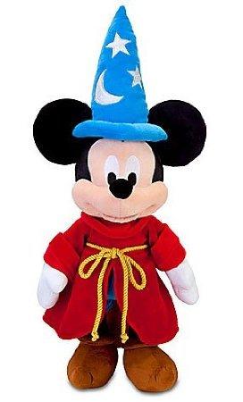 Disney Fantasia Mickey Mouse (Disney Fantasia Sorcerer Mickey Mouse Plush Toy - 24'')