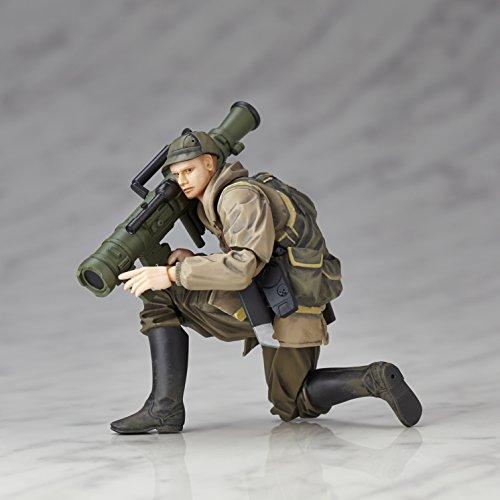 The Phantom Pain Kaiyodo Metal Gear Solid V RMEX-002 Soviet Soldier Action Figure Diamond Comic Distributors DEC148430