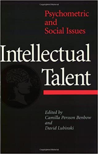 Intellectual talent psychometric and social issues 9780801853029 intellectual talent psychometric and social issues 1st edition fandeluxe Images