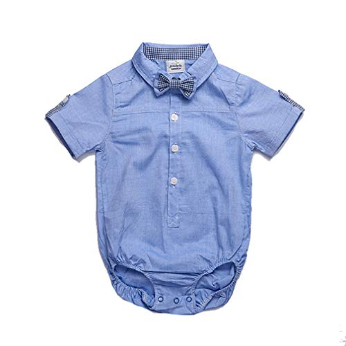 Nafanio Newborn Baby Bodysuit Costume Short Sleeve Formal ()