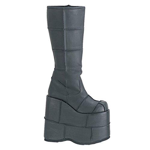 Demonia Stack-301 - Gothic Mega Plateau Stiefel Schuhe 36-46