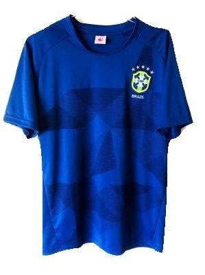 独占オール適応する?代引可?大人用 A049 ブラジル 青 18 ゲームシャツ パンツ付