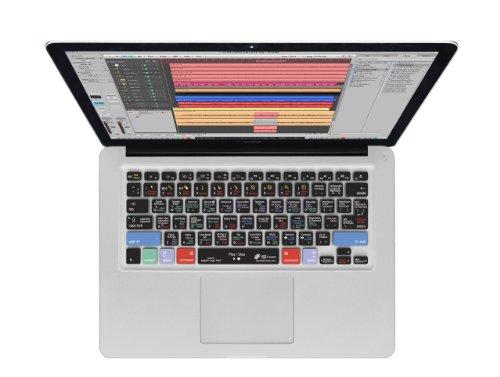 KB Covers Logic Pro/Studio Keyboard Cover for MacBook/Air 13