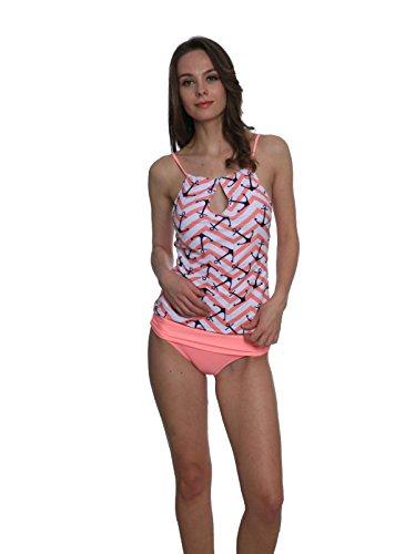 La Sra Bikini Atractivo Traje De Baño Multicolor Delgado Bragas Pink