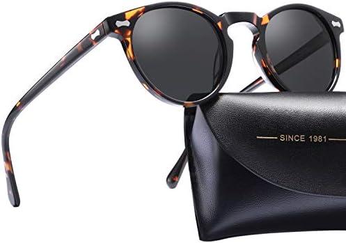 Carfia Vintage Polarized Sunglasses Protection product image