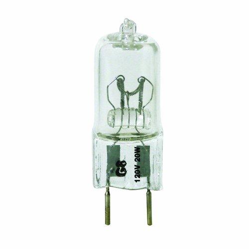 Triangle Bulbs T10041-10 (10 pack) - Q20/G8/CL/120V, 20 Watt, T4 JC Type, 120 Volt, Clear, G8 Bi-pin Base, Halogen Light Bulb, 10 (Halogen Bi Pin Clear Bulb)