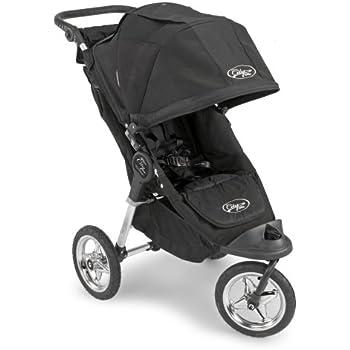 Amazon.com : Baby Jogger City Elite Single Stroller - Black/Black (Discontinued by Manufacturer ...