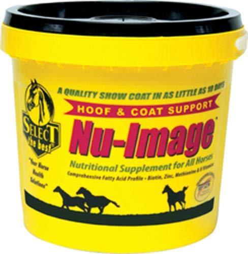 RICHDEL 784299043701 Nu-Image Hoof & Coat Support for Horses, 37.5 lb