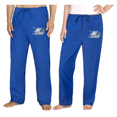 (Georgia Southern Scrubs Logo Scrub Bottoms for Guys or Girls! Lg)