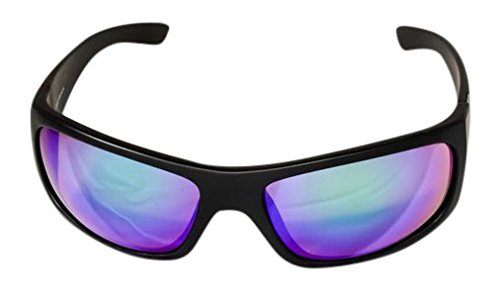 Ocean Waves Sunglasses Pablo Beach Ocean Waves Pablo Beach Sunglasses with Backwater Green Lenses), Black, Backwater - Waves Sun Glasses Ocean