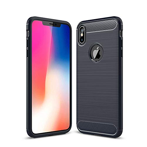 - Sunshine Trad iPhone 7/8 & iPhone7 Plus/8 Plus Shockproof Silicone Light Carbon Fiber Brushed Grip Back Protective Case Frosted Skin Case Cover