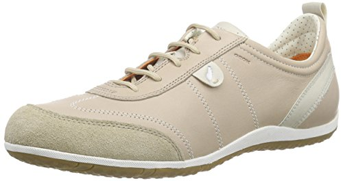 Beige lt A Femme Taupec6738 Basses D Geox Baskets Vega x104ZqAYwY