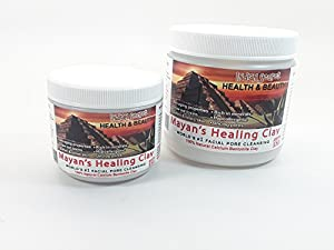 Mayan Secret - Indian Healing Clay - Deep Pore Cleansing Facial & Healing Body Mask | The Original 100% Natural Calcium Bentonite Clay