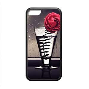 Pink Bottle Flower Fashion Personalized Phone Diy For Touch 4 Case Cover