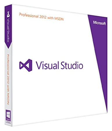 Visual Studio Professional with MSDN 2012